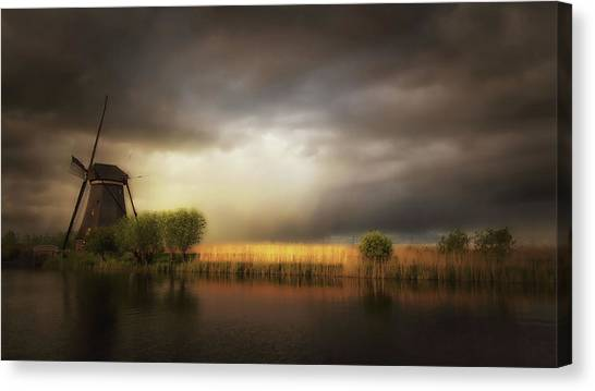 Holland Canvas Print - Nature As A Painter by Saskia Dingemans