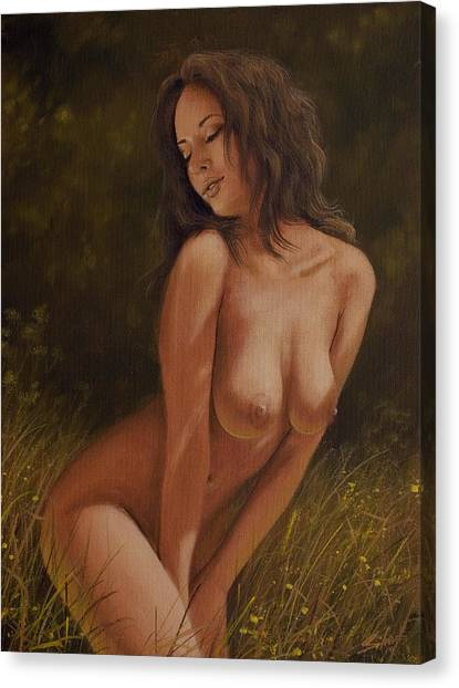 Canvas Print - Nature Girl V by John Silver