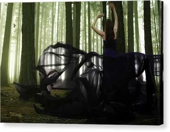 Nature Goddess Canvas Print by Fern Evans