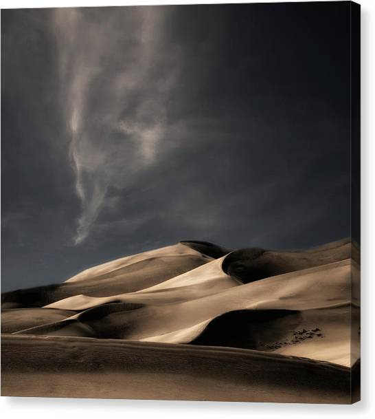 Dunes Canvas Print - Nature Heals And Cheers ... by Yvette Depaepe