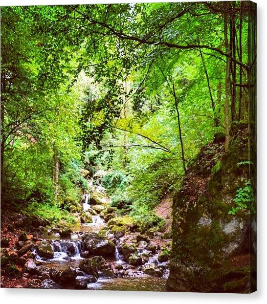 Bar Canvas Print - #nature #landscape #vacation #explore by Nina Bar Okin