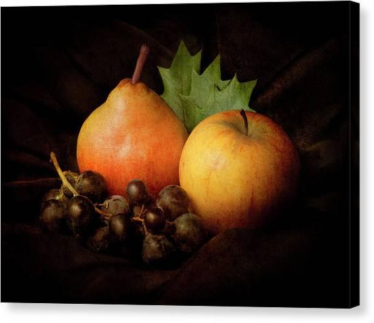 Apples Canvas Print - Nature Morte #3 by Jerome Zakka Bajjani