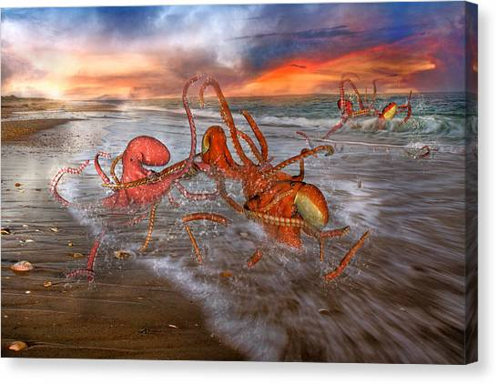 Escape Canvas Print - Nature Of The Game by Betsy Knapp