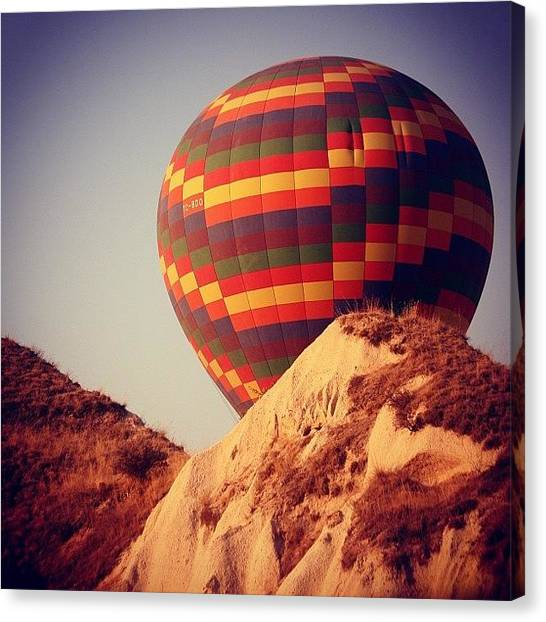 Balloons Canvas Print - #nature #summer #sunset #amazing by Ozan Goren