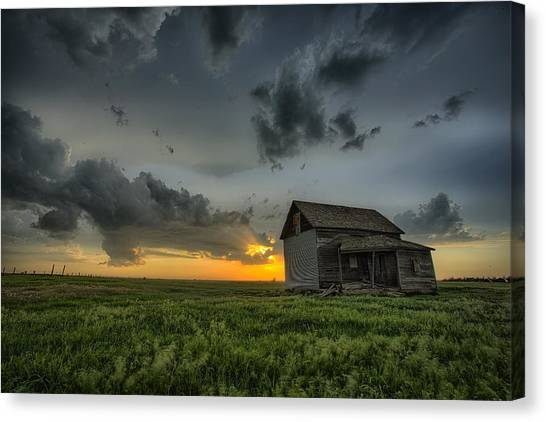 Tornadoes Canvas Print - Nature's Beautiful Fury by Thomas Zimmerman