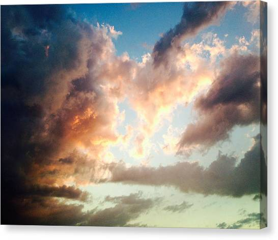 Canvas Print featuring the photograph Nature's Canvas by Candice Trimble