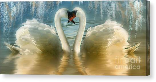 Natures Love Canvas Print