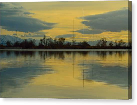 Natures Mirror Canvas Print by Robert Reese