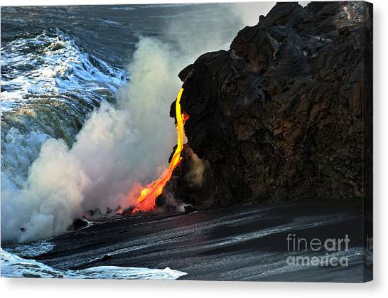 Natures Way Canvas Print by Karl Voss