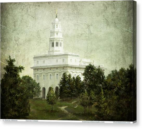 Nauvoo Temple Canvas Print