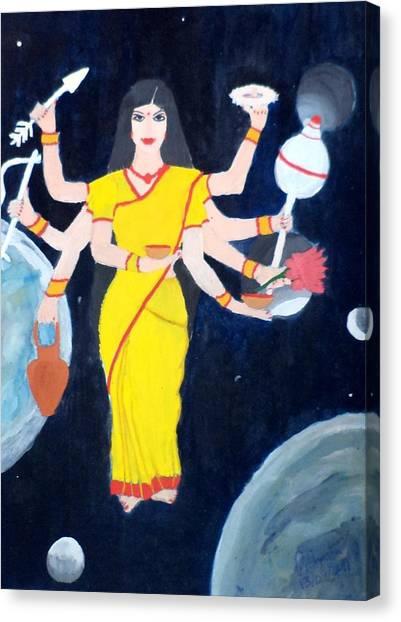 Nava Durga Kusmaanda Canvas Print