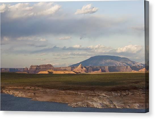 Navajo Mountain View Canvas Print