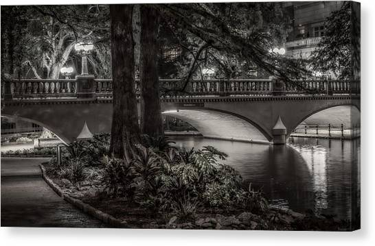 Navarro Street Bridge At Night Canvas Print