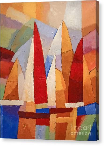 Navigare Canvas Print