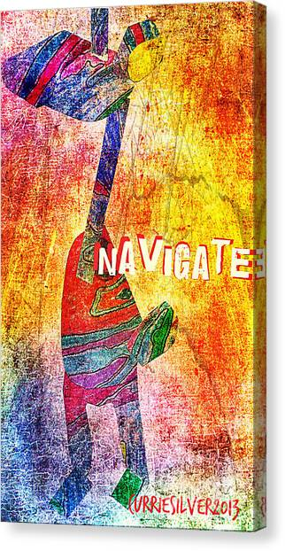 Navigate Canvas Print by Currie Silver
