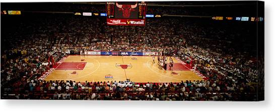Phoenix Suns Canvas Print - Nba Finals Bulls Vs Suns, Chicago by Panoramic Images