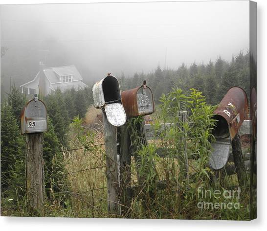 Nc Mailboxes Canvas Print
