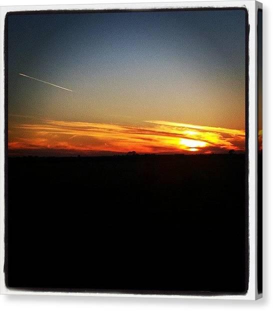 Sun Canvas Print - Nd Sunset by Aaron Kremer