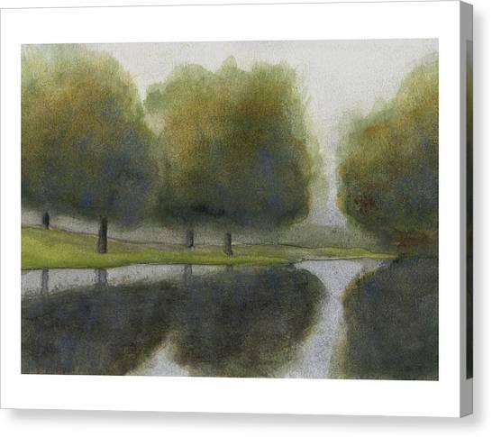 Ne 1st St Fog Canvas Print