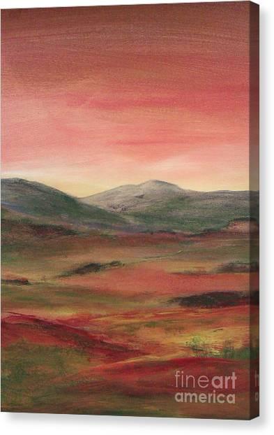 Near Keswick England Canvas Print