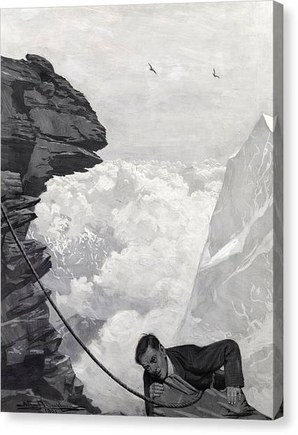 Vertigo Canvas Print - Nearly There by Arthur Herbert Buckland