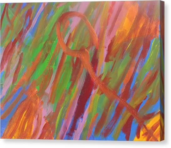 Nebula 23891 Canvas Print by Ronald Weatherford