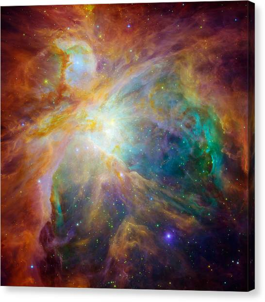 Chaos At The Heart Of Orion Canvas Print