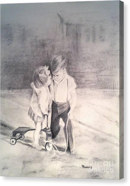 Need A Hug? Canvas Print