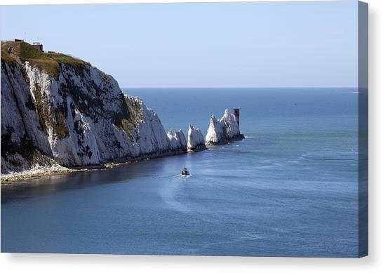 Needle's Isle Of Wight Canvas Print