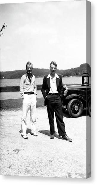 University Of Washington Canvas Print - Neel And Miller by American Philosophical Society