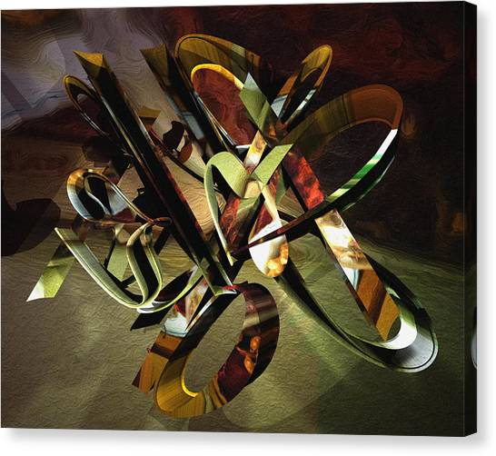 negative aboutness IV Canvas Print by Peter Ciccariello