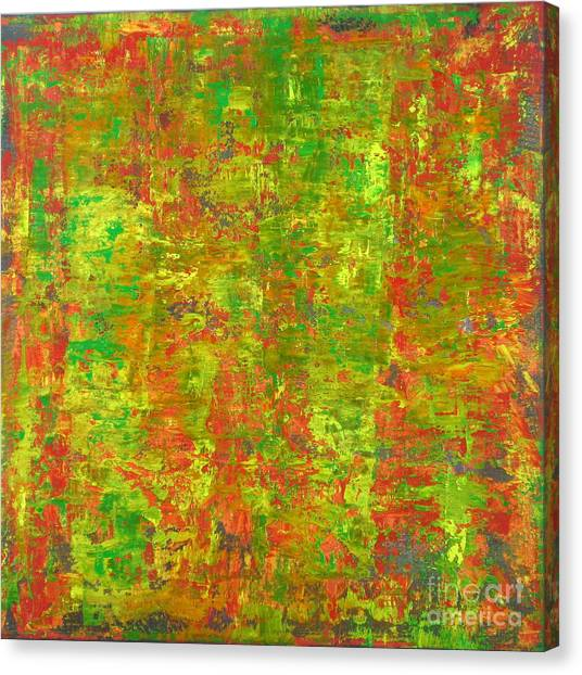 Gerhard Richter Canvas Print - Neither Rhyme Nor Reason by J Loren Reedy