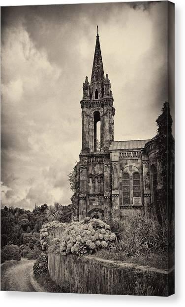 Neo Gothic Chapel Canvas Print