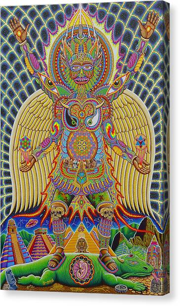 Rasta Canvas Print - Neo Human Evolution by Chris Dyer