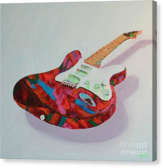 Neon Electric Canvas Print