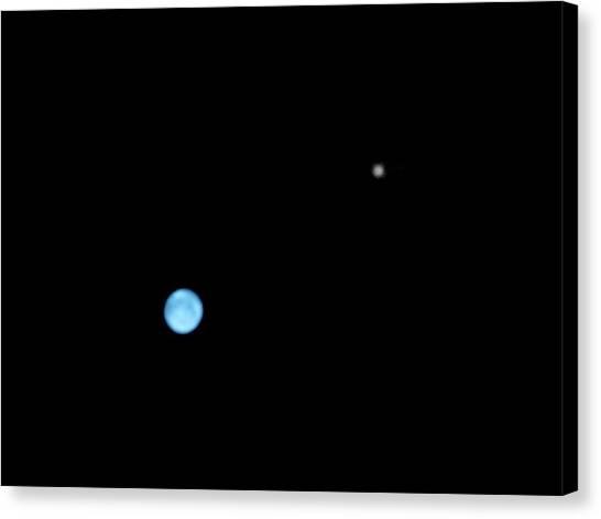 Neptune Canvas Print - Neptune And Triton by Damian Peach