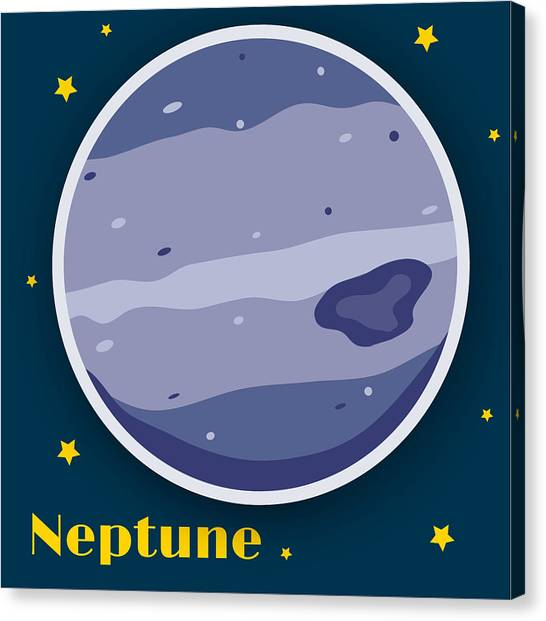 Neptune Canvas Print - Neptune by Christy Beckwith