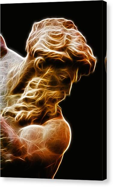 Hellenistic Art Canvas Print - Neptune by Zapista