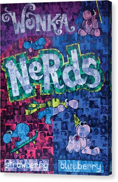 Nerds Canvas Print