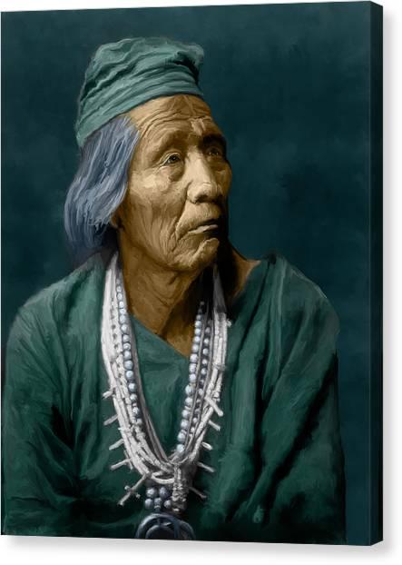 Nesjaja Hatali - Navaho Canvas Print