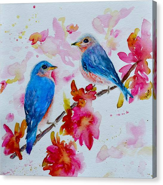 Nesting Pair Canvas Print