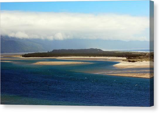 Netarts Bay Canvas Print by Mamie Gunning