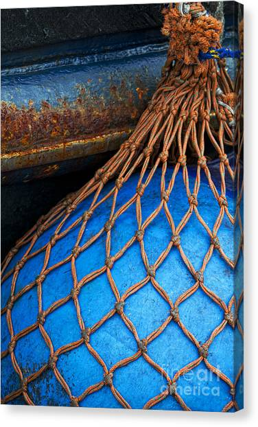 Knot Canvas Print - Nets And Knots Number One by Elena Nosyreva