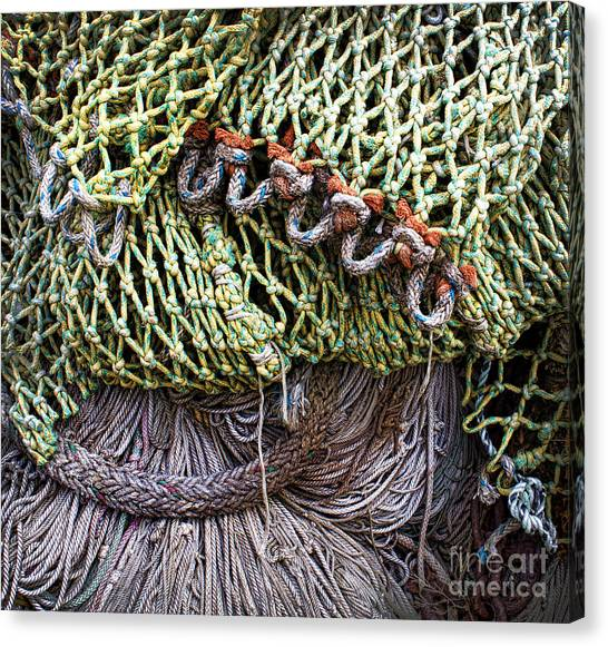 Nets And Knots Number Three Canvas Print