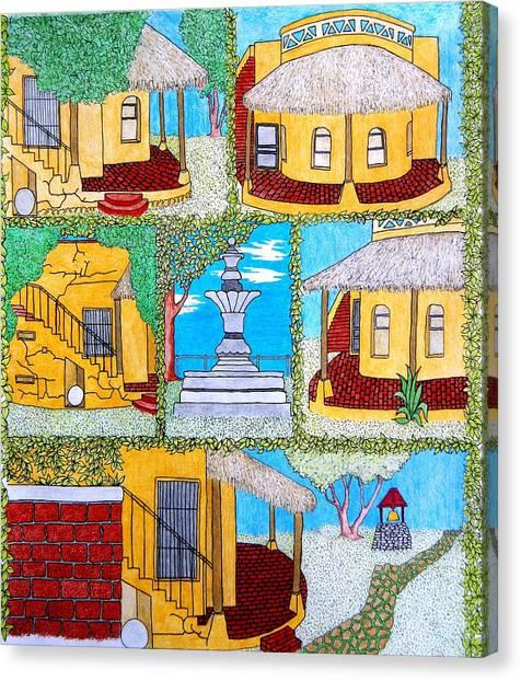 Nettie House Canvas Print