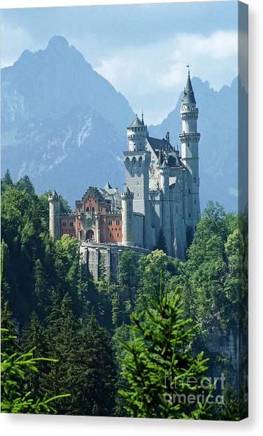 Neuschwanstein Castle 11 Canvas Print