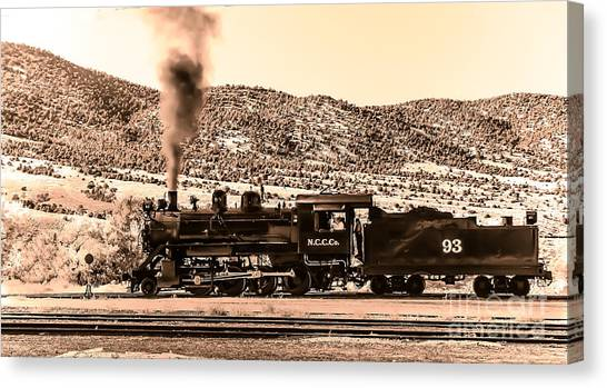 Nevada Northern Railway Canvas Print