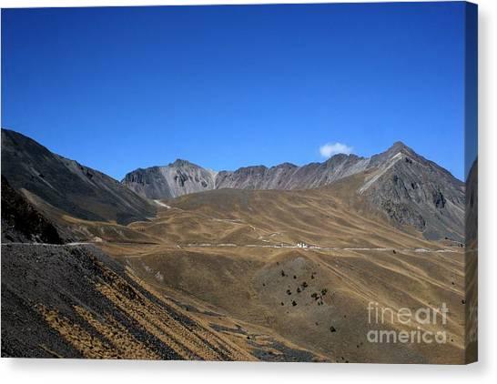 Nevado De Toluca Mexico Canvas Print