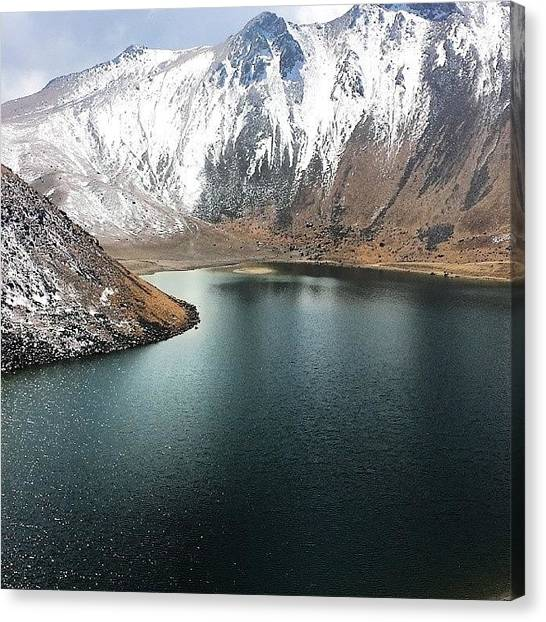 Volcanoes Canvas Print - #nevado #toluca #mexico #nature by Daniel Legaspi