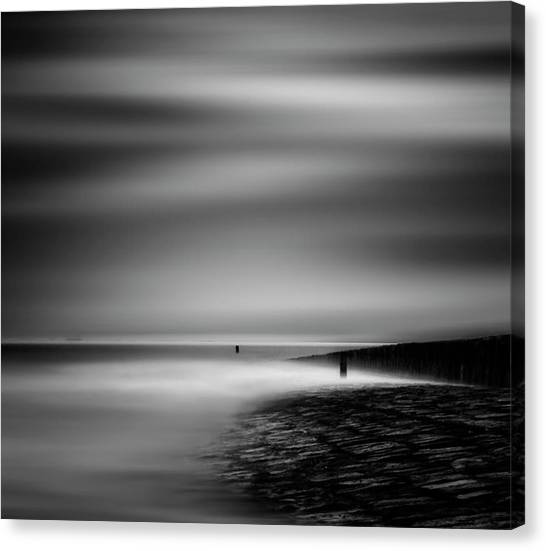 Shore Canvas Print - Never Ceasing Whisper Of The Sea by Yvette Depaepe